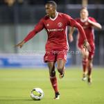 22-09-2017: Voetbal: Almere City FC v FC Oss: Almere Arsenio Valpoort (Almere City FC) Jupiler League 2017 / 2018