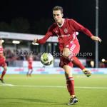 22-09-2017: Voetbal: Almere City FC v FC Oss: Almere Dennis van der Heijden (Almere City FC) Jupiler League 2017 / 2018