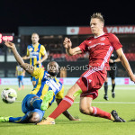 22-09-2017: Voetbal: Almere City FC v FC Oss: Almere (L-R) Lorenzo Pique (FC Oss), Josef Kvída (Almere City FC) Jupiler League 2017 / 2018