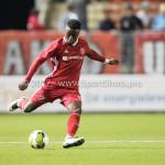 22-09-2017: Voetbal: Almere City FC v FC Oss: Almere Leeroy Owusu (Almere City FC) Jupiler League 2017 / 2018