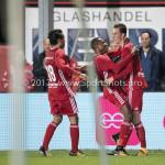 22-09-2017: Voetbal: Almere City FC v FC Oss: Almere (L-R) Ezra Walian (Almere City FC), Arsenio Valpoort (Almere City FC), Dennis van der Heijden (Almere City FC) Jupiler League 2017 / 2018