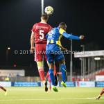 22-09-2017: Voetbal: Almere City FC v FC Oss: Almere Josef Kvída (Almere City FC), Lorenzo Pique (FC Oss) Jupiler League 2017 / 2018