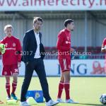 23-09-2017: Voetbal: Jong Almere City FC v Jong FC Groningen: Almere Jason Oost - assistent Trainer (Jong Almere City FC) 3de divisie zaterdag 2017 / 2018