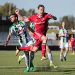 23-09-2017: Voetbal: Jong Almere City FC v Jong FC Groningen: Almere Nicky van Hilten (Jong Almere City FC) 3de divisie zaterdag 2017 / 2018