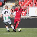 23-09-2017: Voetbal: Jong Almere City FC v Jong FC Groningen: Almere (L-R) alm42, Silvester van der Water (Jong Almere City FC) 3de divisie zaterdag 2017 / 2018