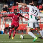 23-09-2017: Voetbal: Jong Almere City FC v Jong FC Groningen: Almere Devechio Blackson (Jong Almere City FC) 3de divisie zaterdag 2017 / 2018