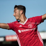 23-09-2017: Voetbal: Jong Almere City FC v Jong FC Groningen: Almere Khalid Tadmine (Jong Almere City FC) 3de divisie zaterdag 2017 / 2018