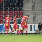29-09-2017: Voetbal: Go Ahead Eagles v Almere City FC: Deventer Go Ahead Eagles Celebrating 1-0 Jupiler League 2017 / 2018