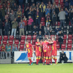 29-09-2017: Voetbal: Go Ahead Eagles v Almere City FC: Deventer Go Ahead Eagles Celebrating 2-1 Jupiler League 2017 / 2018