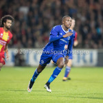29-09-2017: Voetbal: Go Ahead Eagles v Almere City FC: Deventer Arsenio Valpoort (Almere City FC) Jupiler League 2017 / 2018