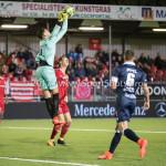 06-10-2017: Voetbal: Almere City FC v MVV Maastricht: Almere Michael Verrips (MVV), Dennis van der Heijden (Almere City FC) Jupiler League 2017 / 2018