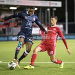 06-10-2017: Voetbal: Almere City FC v MVV Maastricht: Almere (L-R) Jonathan Okita (MVV) , Anass Ahannach (Almere City FC) Jupiler League 2017 / 2018