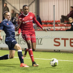 06-10-2017: Voetbal: Almere City FC v MVV Maastricht: Almere (L-R) Ricardo Ippel (MVV), Arsenio Valpoort (Almere City FC) Jupiler League 2017 / 2018