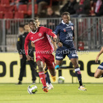 06-10-2017: Voetbal: Almere City FC v MVV Maastricht: Almere Delvechio Blackson (Almere City FC) Jupiler League 2017 / 2018