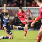 06-10-2017: Voetbal: Almere City FC v MVV Maastricht: Almere Anass Ahannach (Almere City FC) Jupiler League 2017 / 2018