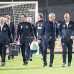 16-10-2017: Voetbal: Jong Ajax v Almere City FC: Amsterdam (L-R) Jack de Gier - Technisch manager/Hoofdtrainer (Almere City FC), Marco Heering - Assistent trainer (Almere City FC) Jupiler League 2017 / 2018