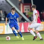 16-10-2017: Voetbal: Jong Ajax v Almere City FC: Amsterdam (L-R) Charlie Telfer (Almere City FC), Carel Eiting (Jong Ajax) Jupiler League 2017 / 2018