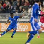16-10-2017: Voetbal: Jong Ajax v Almere City FC: Amsterdam (L-R) Leeroy Owusu (Almere City FC), Vaclav Cerny (Jong Ajax) Jupiler League 2017 / 2018