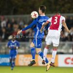 16-10-2017: Voetbal: Jong Ajax v Almere City FC: Amsterdam (L-R) Dennis van der Heijden (Almere City FC), Darren Sidoel (Jong Ajax) Jupiler League 2017 / 2018