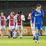 16-10-2017: Voetbal: Jong Ajax v Almere City FC: Amsterdam Jong Ajax Celebrating 1-0. Mateo Cassierra (Jong Ajax) Jupiler League 2017 / 2018