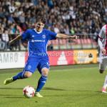 16-10-2017: Voetbal: Jong Ajax v Almere City FC: Amsterdam (L-R) Charlie Telfer (Almere City FC), Daley Sinkgraven (Jong Ajax) Jupiler League 2017 / 2018