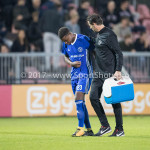 16-10-2017: Voetbal: Jong Ajax v Almere City FC: Amsterdam (L-R) Achille Vaarnold (Almere City FC),   Leo de Wit - Fysiotherapeut (Almere City FC) Jupiler League 2017 / 2018