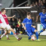 16-10-2017: Voetbal: Jong Ajax v Almere City FC: Amsterdam (L-R) Carel Eiting (Jong Ajax), Charlie Telfer (Almere City FC) Jupiler League 2017 / 2018