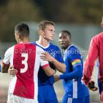 16-10-2017: Voetbal: Jong Ajax v Almere City FC: Amsterdam (L-R) Darren Sidoel (Jong Ajax), Damon Mirani (Almere City FC) Jupiler League 2017 / 2018