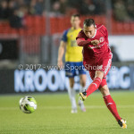 20-10-2017: Voetbal: Almere City FC v SC Cambuur: Almere Gaston Salasiwa (Almere City FC) Jupiler League 2017 / 2018