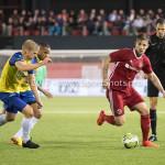 20-10-2017: Voetbal: Almere City FC v SC Cambuur: Almere Kevin Brands (Almere City FC) Jupiler League 2017 / 2018