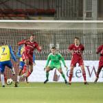 20-10-2017: Voetbal: Almere City FC v SC Cambuur: Almere (L-R) Alvin Daniels (SC Cambuur), Arsenio Valpoort (Almere City FC) Jupiler League 2017 / 2018