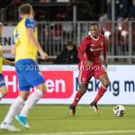20-10-2017: Voetbal: Almere City FC v SC Cambuur: Almere Arsenio Valpoort (Almere City FC) Jupiler League 2017 / 2018