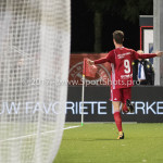20-10-2017: Voetbal: Almere City FC v SC Cambuur: Almere Dennis van der Heijden (Almere City FC) 1-0 Jupiler League 2017 / 2018
