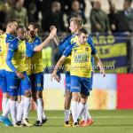 20-10-2017: Voetbal: Almere City FC v SC Cambuur: Almere SC Cambuur celebrating 1-1 Jupiler League 2017 / 2018