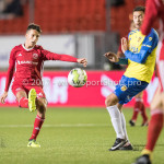 20-10-2017: Voetbal: Almere City FC v SC Cambuur: Almere Anass Ahannach (Almere City FC) Jupiler League 2017 / 2018