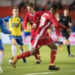 20-10-2017: Voetbal: Almere City FC v SC Cambuur: Almere Dennis van der Heijden (Almere City FC) Jupiler League 2017 / 2018