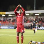 20-10-2017: Voetbal: Almere City FC v SC Cambuur: Almere Achille Vaarnold (Almere City FC) Jupiler League 2017 / 2018