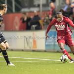 26-10-2017: Voetbal: Almere City FC v AZ: Almere (L-R)  Teun Koopmeiners (AZ), Arsenio Valpoort (Almere City FC) KNVB Beker 2e ronde 2017 / 2018