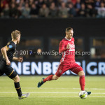 26-10-2017: Voetbal: Almere City FC v AZ: Almere Kevin Brands (Almere City FC) KNVB Beker 2e ronde 2017 / 2018