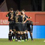 26-10-2017: Voetbal: Almere City FC v AZ: Almere AZ celebrating 0-1 KNVB Beker 2e ronde 2017 / 2018