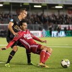 26-10-2017: Voetbal: Almere City FC v AZ: Almere (L-R) Stijn Wuytens (AZ), Ezra Walian (Almere City FC) KNVB Beker 2e ronde 2017 / 2018
