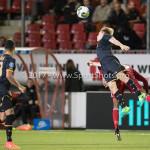 26-10-2017: Voetbal: Almere City FC v AZ: Almere (L-R) Ricardo van Rhijn (AZ), Jonas Svensson (AZ)), Arsenio Valpoort (Almere City FC) KNVB Beker 2e ronde 2017 / 2018