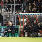 26-10-2017: Voetbal: Almere City FC v AZ: Almere (L-R) Marco Heering - Assistent trainer (Almere City FC), Jack de Gier - Technisch manager/Hoofdtrainer (Almere City FC) KNVB Beker 2e ronde 2017 / 2018