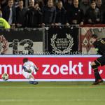 26-10-2017: Voetbal: Almere City FC v AZ: Almere (L-R) Chiel Kramer (Almere City FC), Wout Weghorst (AZ) KNVB Beker 2e ronde 2017 / 2018