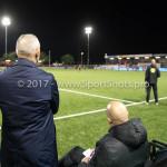 26-10-2017: Voetbal: Almere City FC v AZ: Almere (L-R) Jack de Gier - Technisch manager/Hoofdtrainer (Almere City FC), Marco Heering - Assistent trainer (Almere City FC) KNVB Beker 2e ronde 2017 / 2018