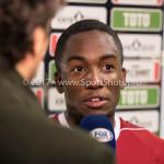 26-10-2017: Voetbal: Almere City FC v AZ: Almere Calvin Mac Intosch (Almere City FC) KNVB Beker 2e ronde 2017 / 2018