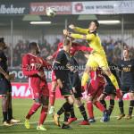 03-11-2017: Voetbal: Almere City FC v Jong AZ: Almere (L-R) Javier Vet (Almere City FC), Nick Olij (Jong AZ) Jupiler League 2017 / 2018