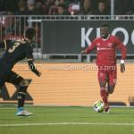 03-11-2017: Voetbal: Almere City FC v Jong AZ: Almere Leeroy Owusu (Almere City FC) Jupiler League 2017 / 2018