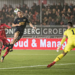 03-11-2017: Voetbal: Almere City FC v Jong AZ: Almere (L-R) Arsenio Valpoort (Almere City FC), Levi Opdam (Jong AZ), Nick Olij (Jong AZ) Jupiler League 2017 / 2018