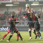 03-11-2017: Voetbal: Almere City FC v Jong AZ: Almere (L-R) Ezra Walian (Almere City FC), Joris Kramer (Jong AZ) Jupiler League 2017 / 2018